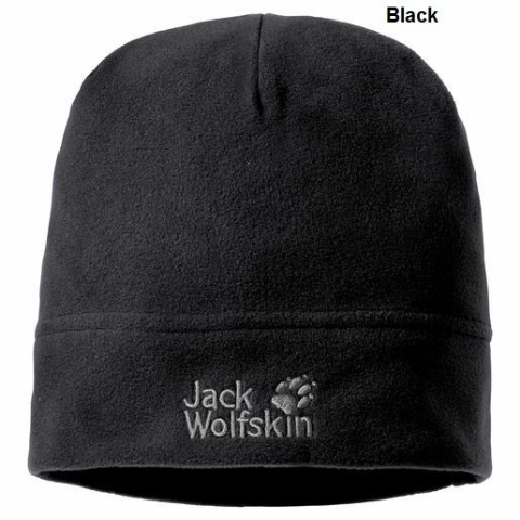 Jack Wolfskin Unisex Real Stuff Fleece beanie - Warm - Lightweight